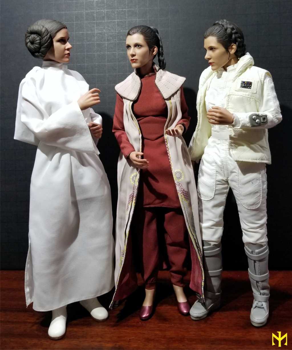 STAR WARS Hot Toys Princess Leia (Bespin) (updated with Part II: Kitbash Potential) Htleia11