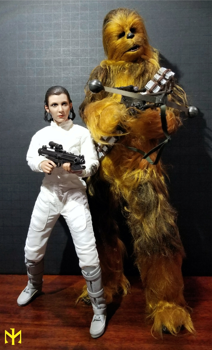 EmpireStrikesBack - STAR WARS Hot Toys Princess Leia (Bespin) (updated with Part II: Kitbash Potential) Htleia24