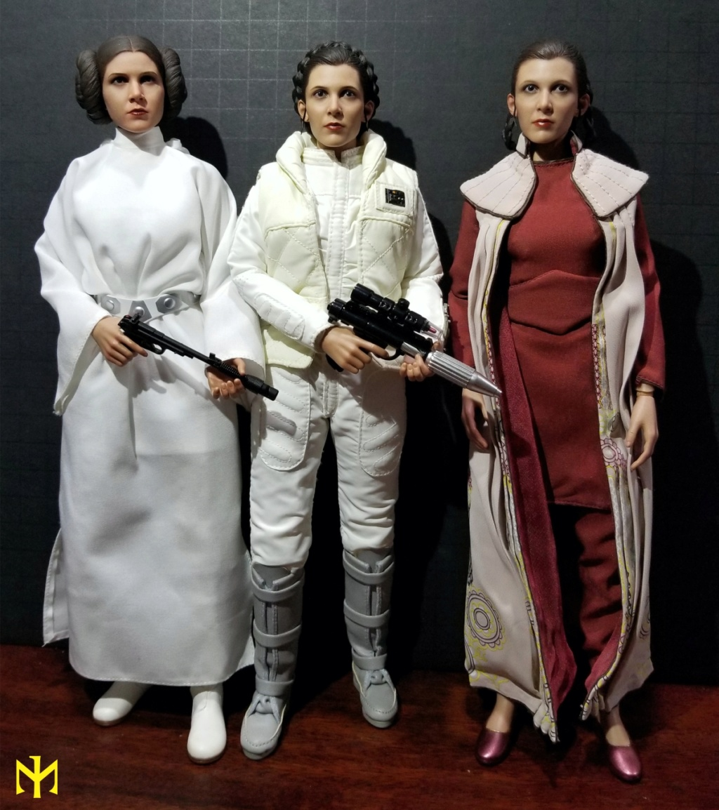 EmpireStrikesBack - STAR WARS Hot Toys Princess Leia (Bespin) (updated with Part II: Kitbash Potential) Htleia28