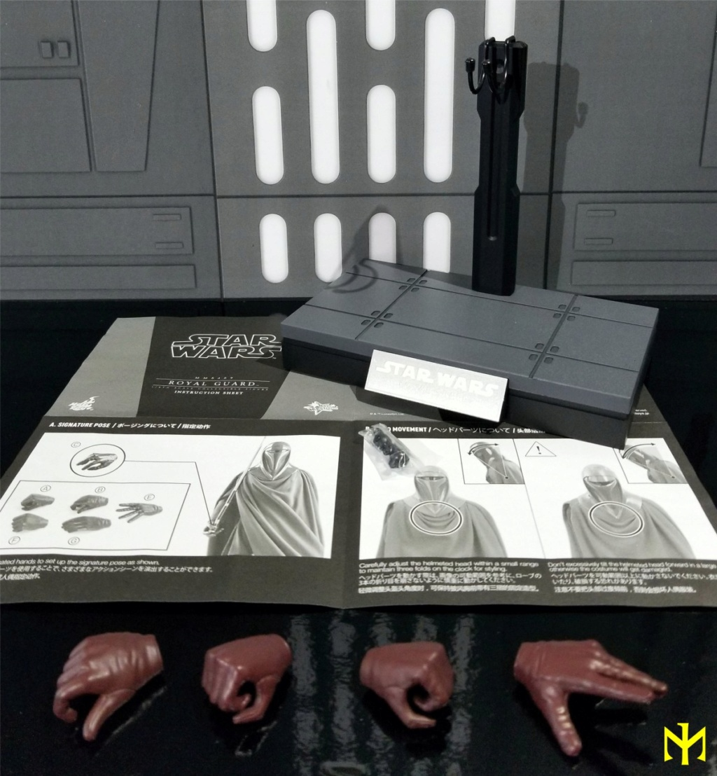 returnofthejedi - Hot Toys Star Wars Royal Guard Review Htrg0610