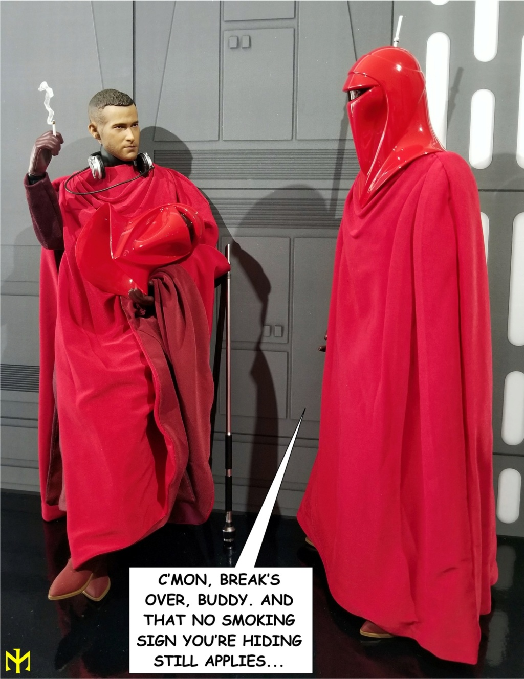 returnofthejedi - Hot Toys Star Wars Royal Guard Review Htrg0910