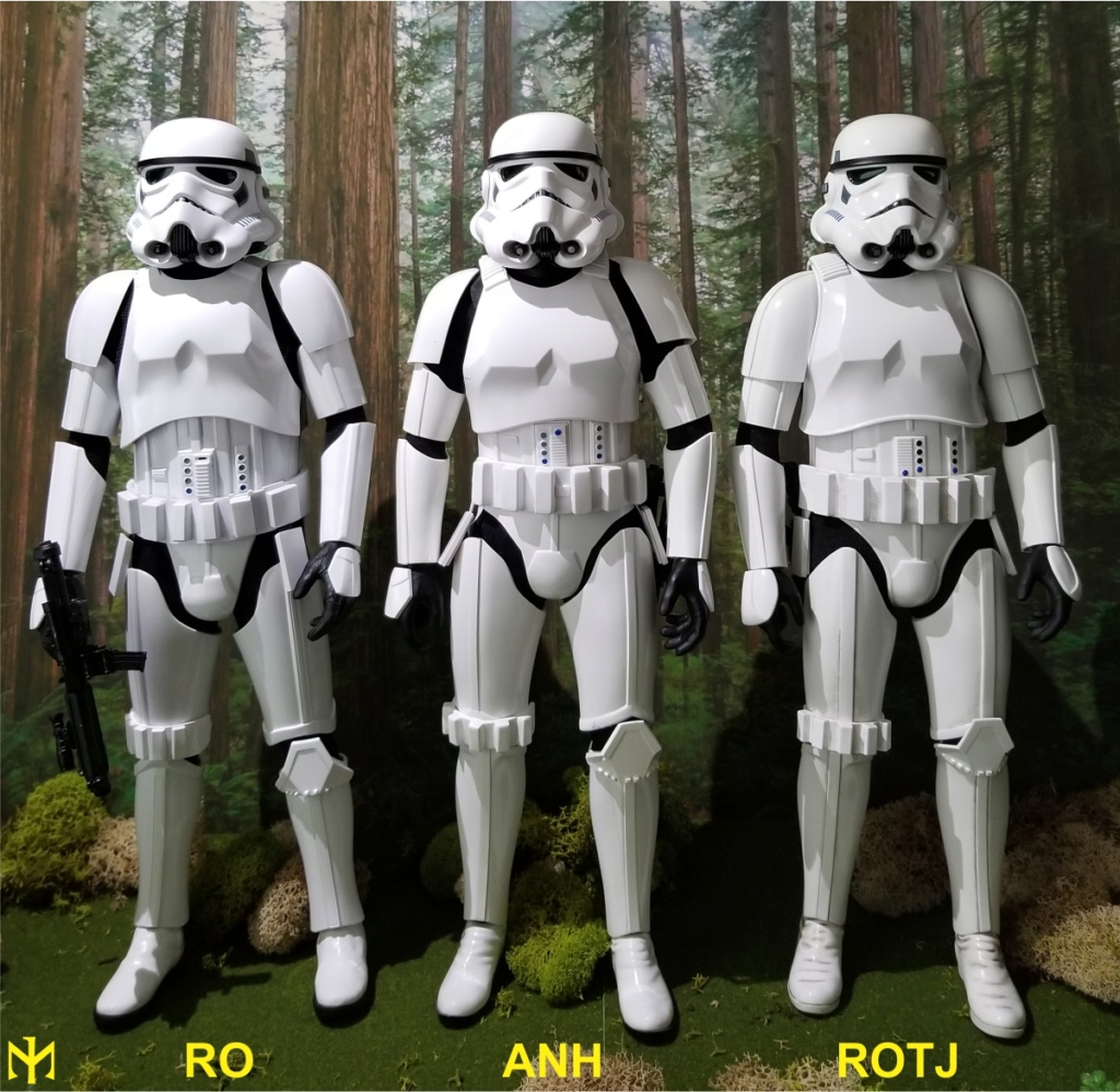 stormtrooper - STAR WARS Original Trilogy Stormtroopers Comparison Htrjs116