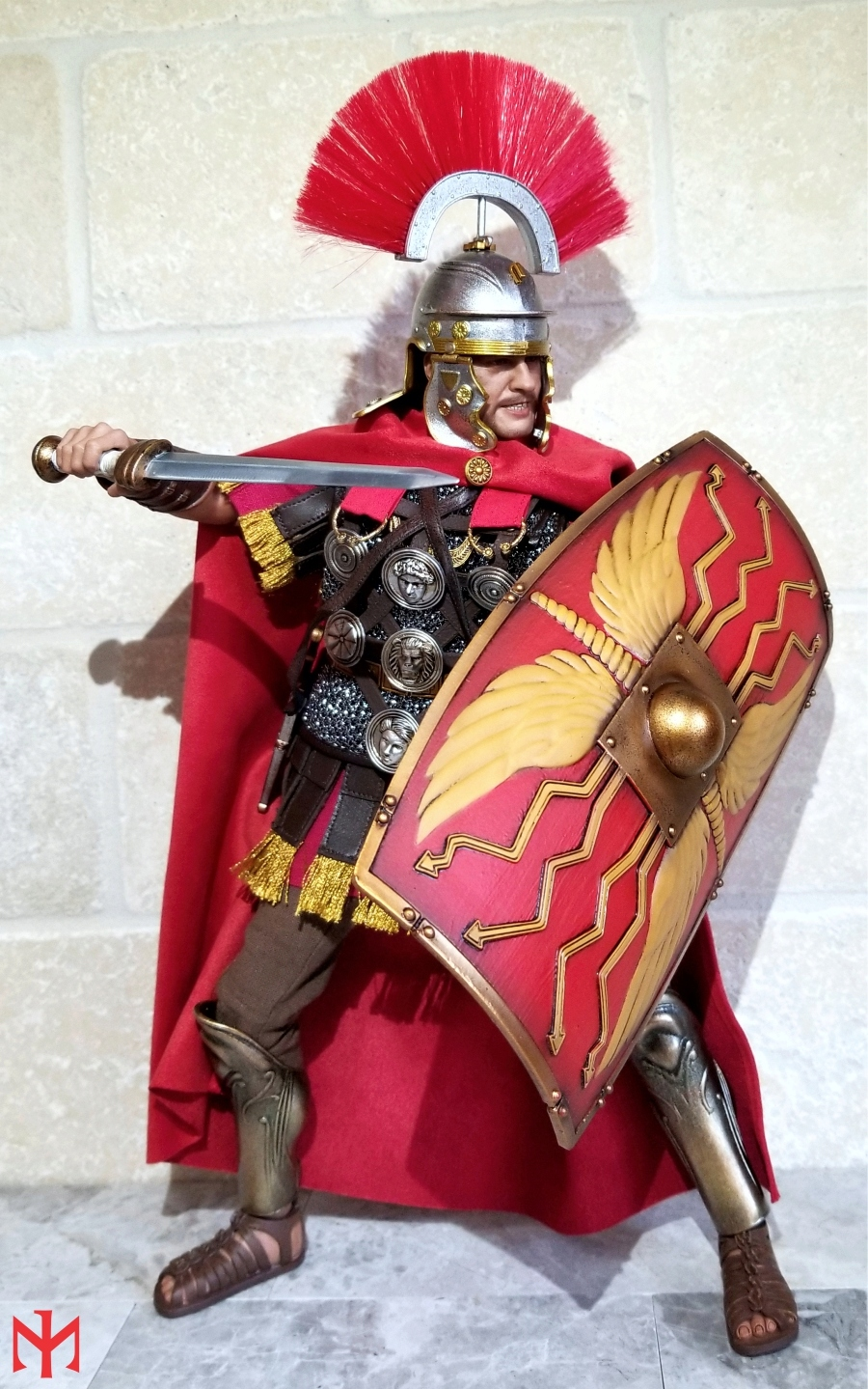 male - ROME Imperial Army: Centurion by HH Model/HaoYu Toys review Iac0110