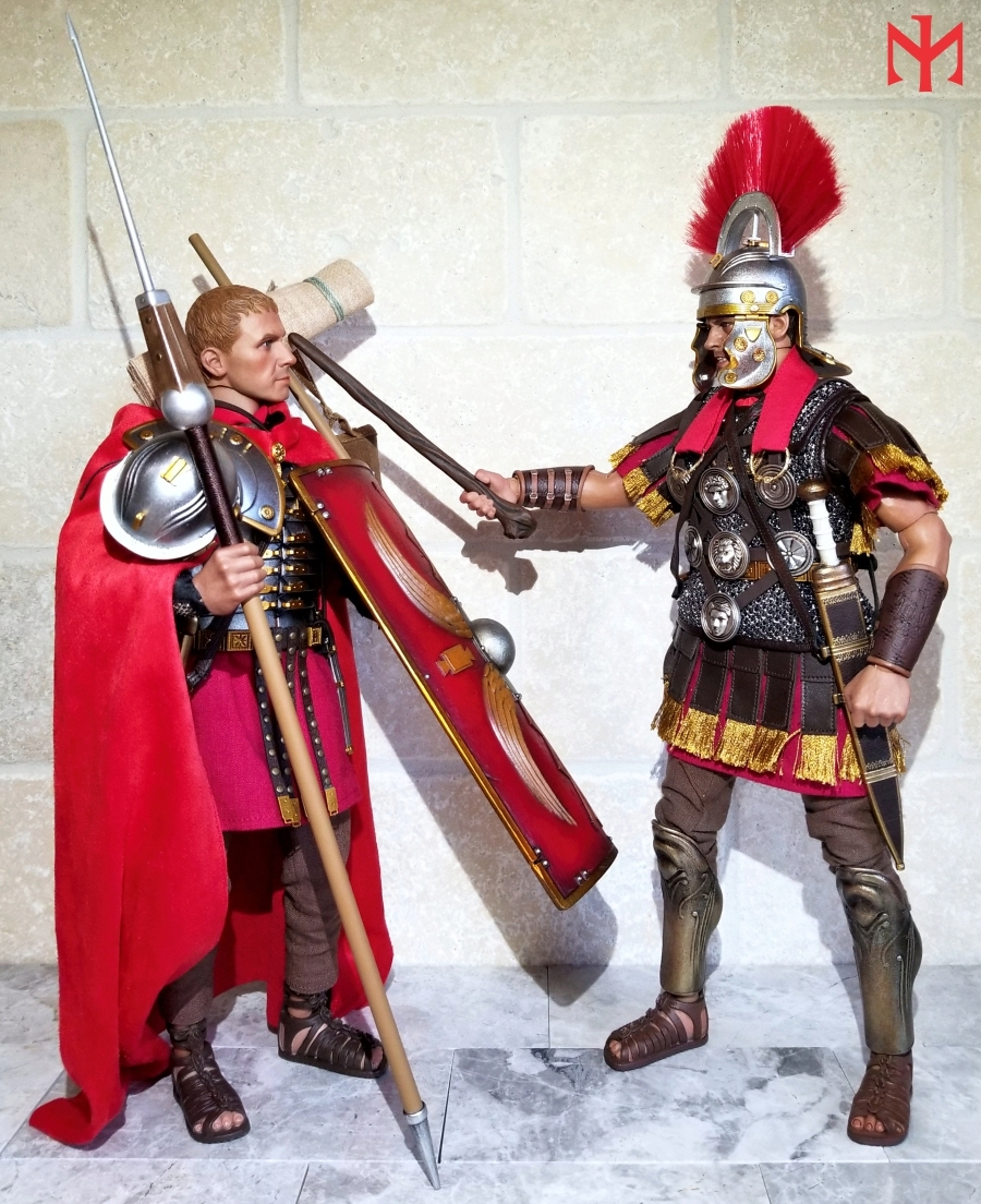 HHModel - ROME Imperial Army: Centurion by HH Model/HaoYu Toys review Iac0910