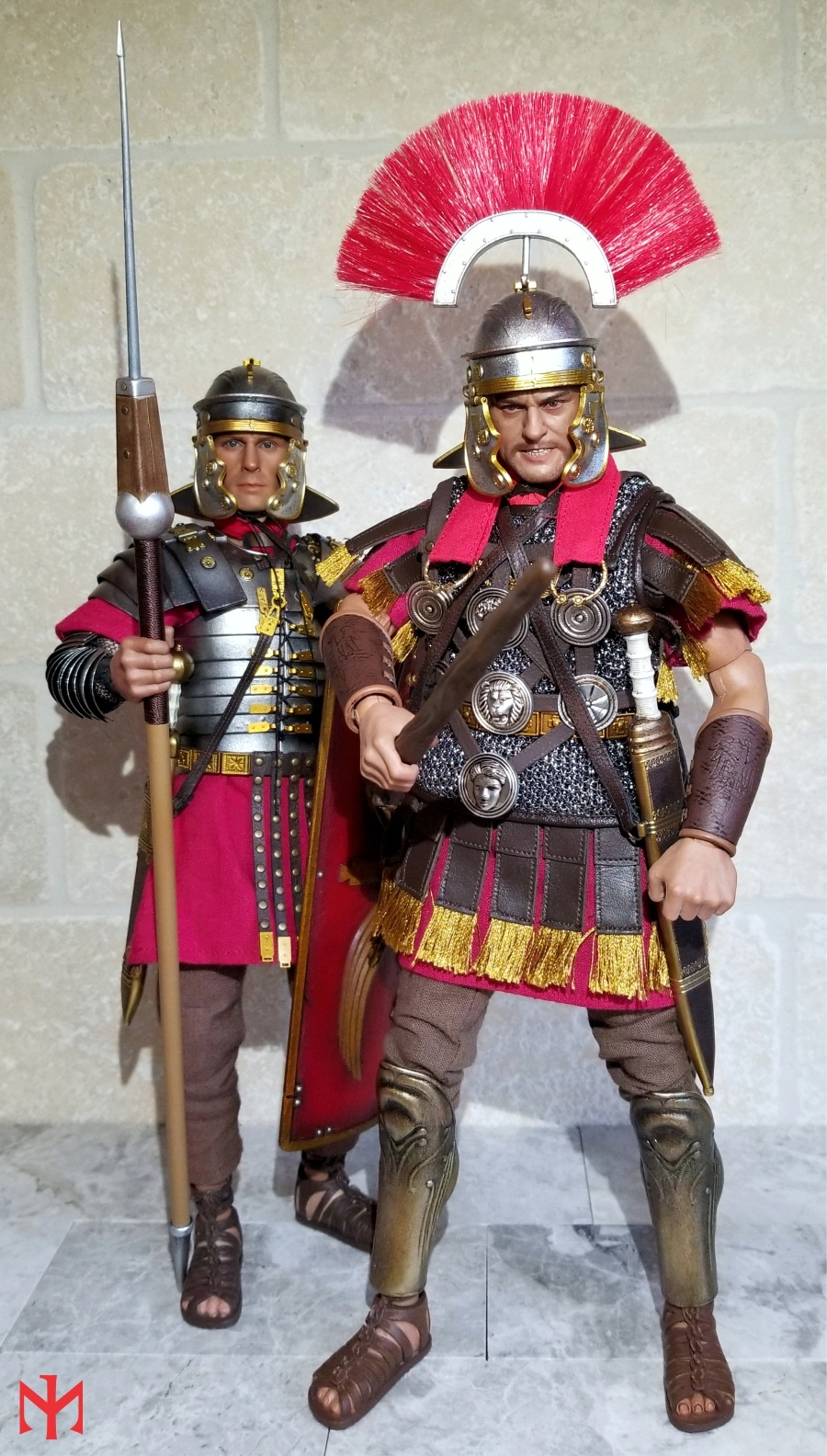 HHModel - ROME Imperial Army: Centurion by HH Model/HaoYu Toys review Iac1110