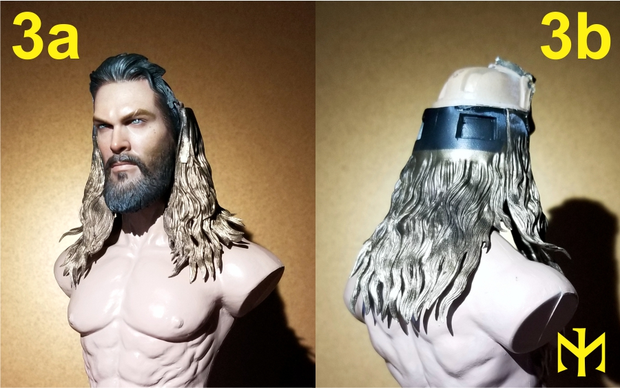 Converting Jason Momoa HT Aquaman Head Jma0210