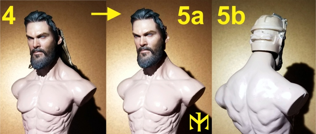 Converting Jason Momoa HT Aquaman Head Jma0310