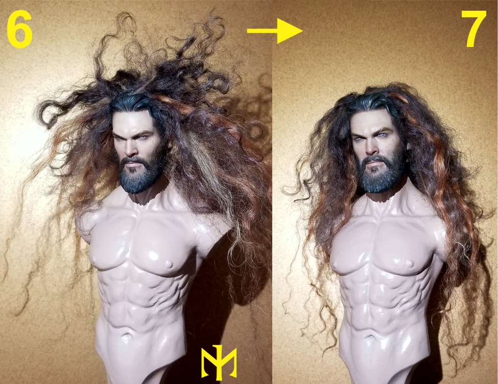 Converting Jason Momoa HT Aquaman Head Jma0410