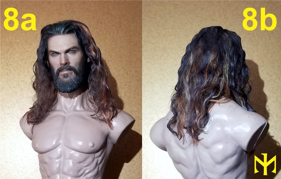 Converting Jason Momoa HT Aquaman Head Jma0510