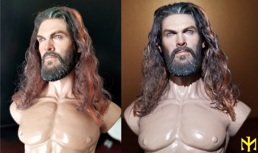 Converting Jason Momoa HT Aquaman Head Jma0710