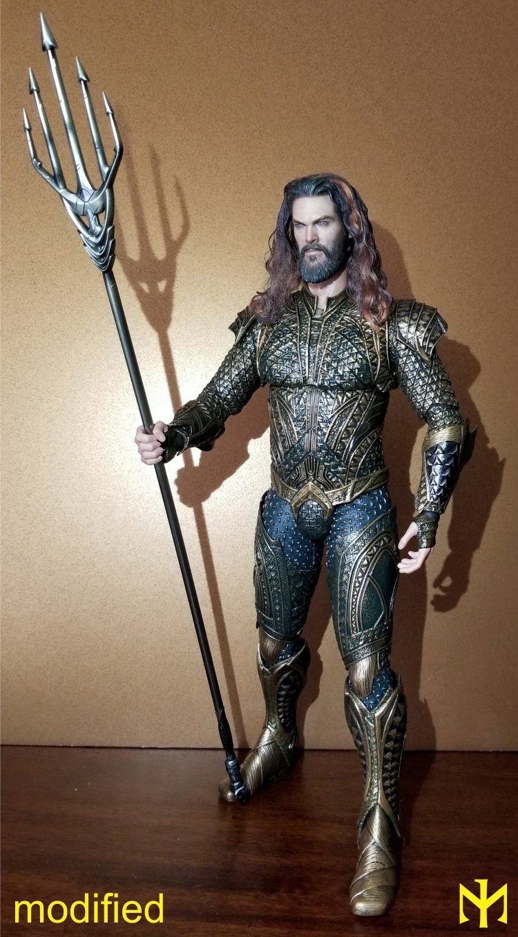 Converting Jason Momoa HT Aquaman Head Jma1010