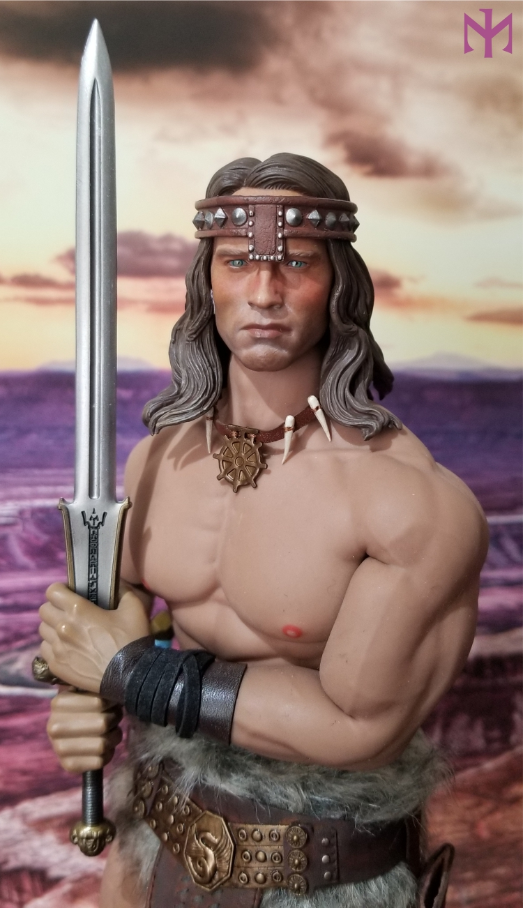 fantasy - Conan the Barbarian Masterclass Set and Head (MC01) by Kaustic Plastik Kpmc0110