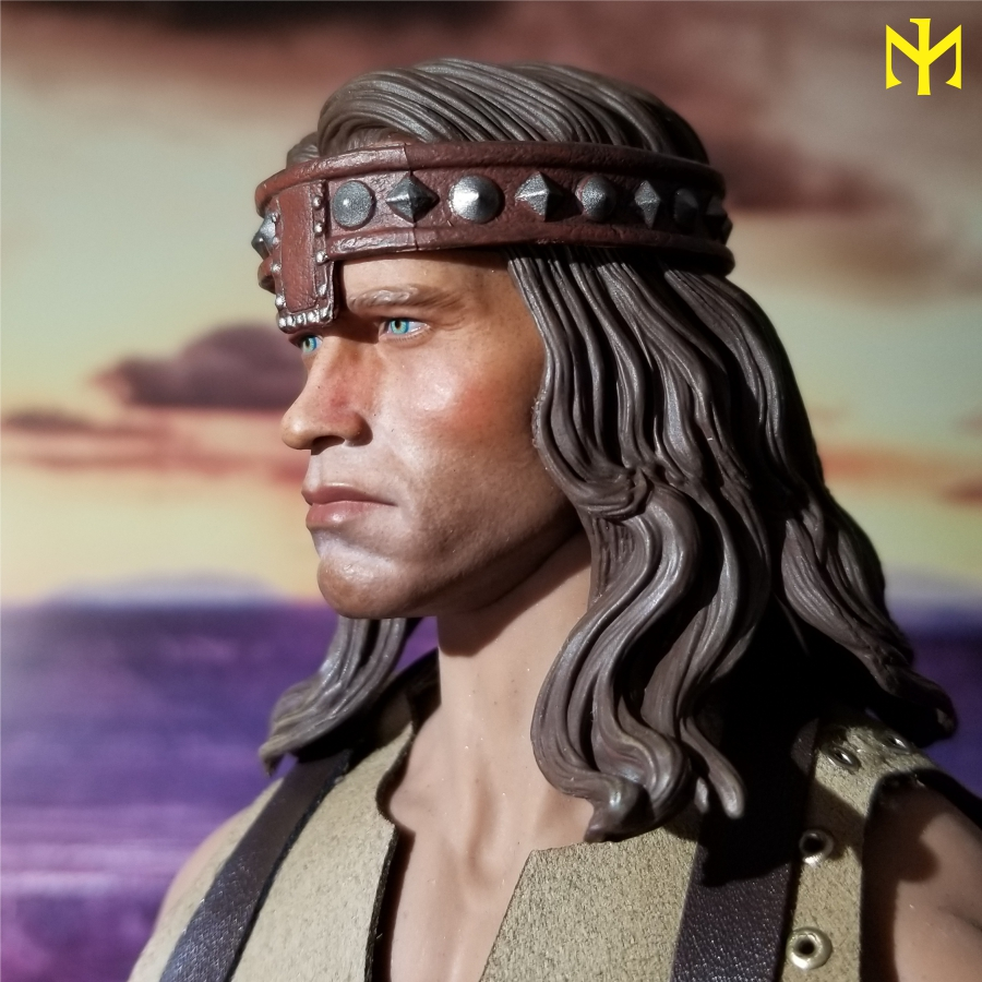 kp - Conan the Barbarian Masterclass Set and Head (MC01) by Kaustic Plastik Kpmc0410