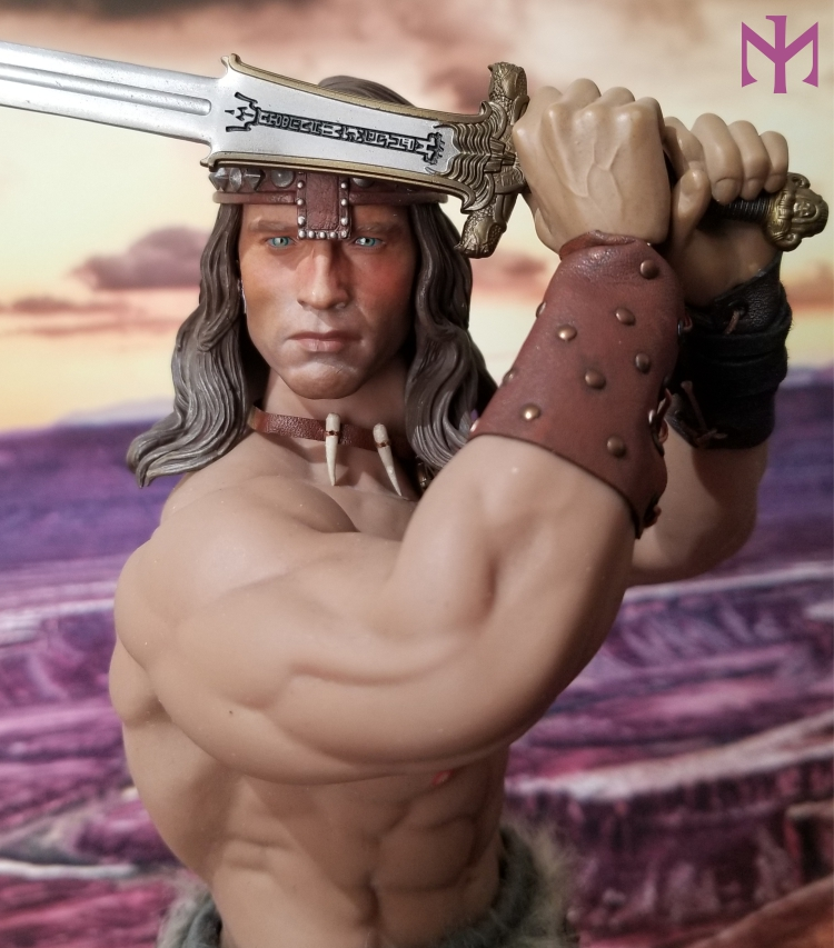 fantasy - Conan the Barbarian Masterclass Set and Head (MC01) by Kaustic Plastik Kpmc0510