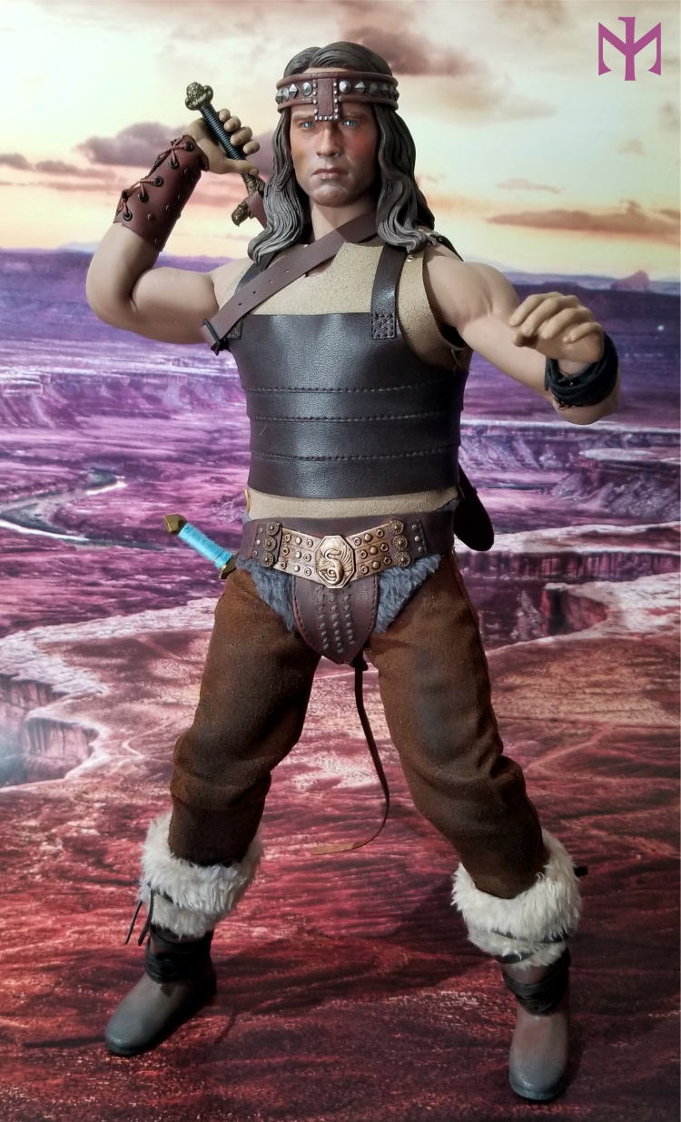 fantasy - Conan the Barbarian Masterclass Set and Head (MC01) by Kaustic Plastik Kpmc0810