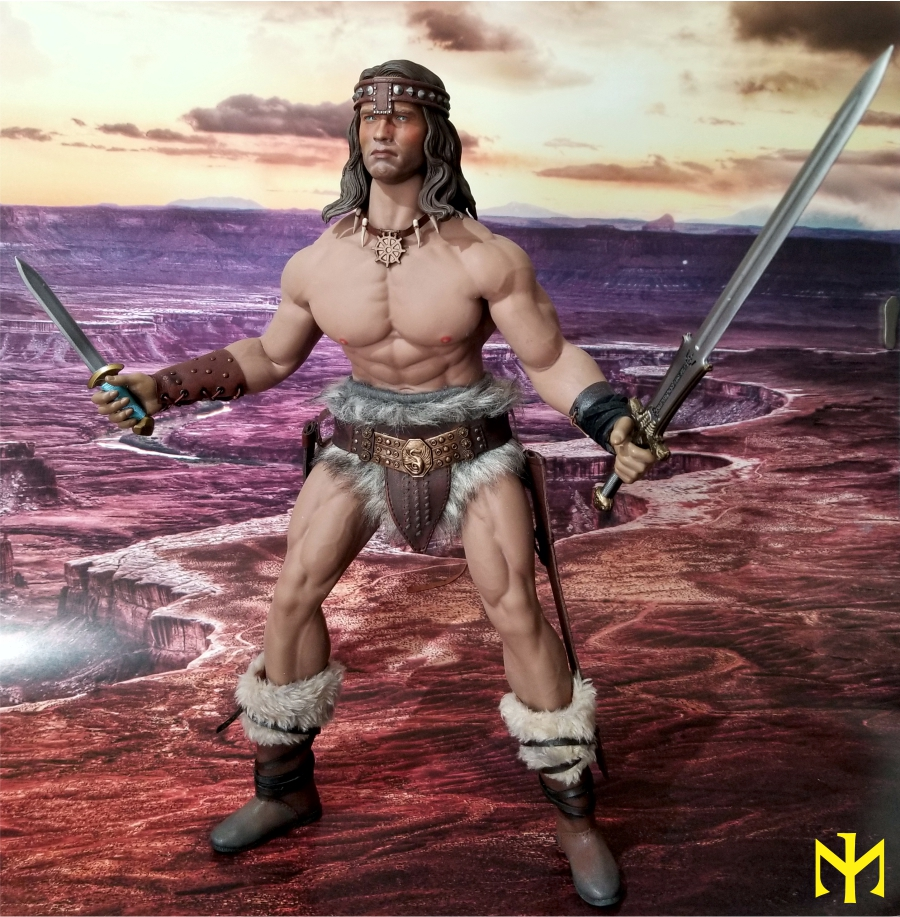 fantasy - Conan the Barbarian Masterclass Set and Head (MC01) by Kaustic Plastik Kpmc1110