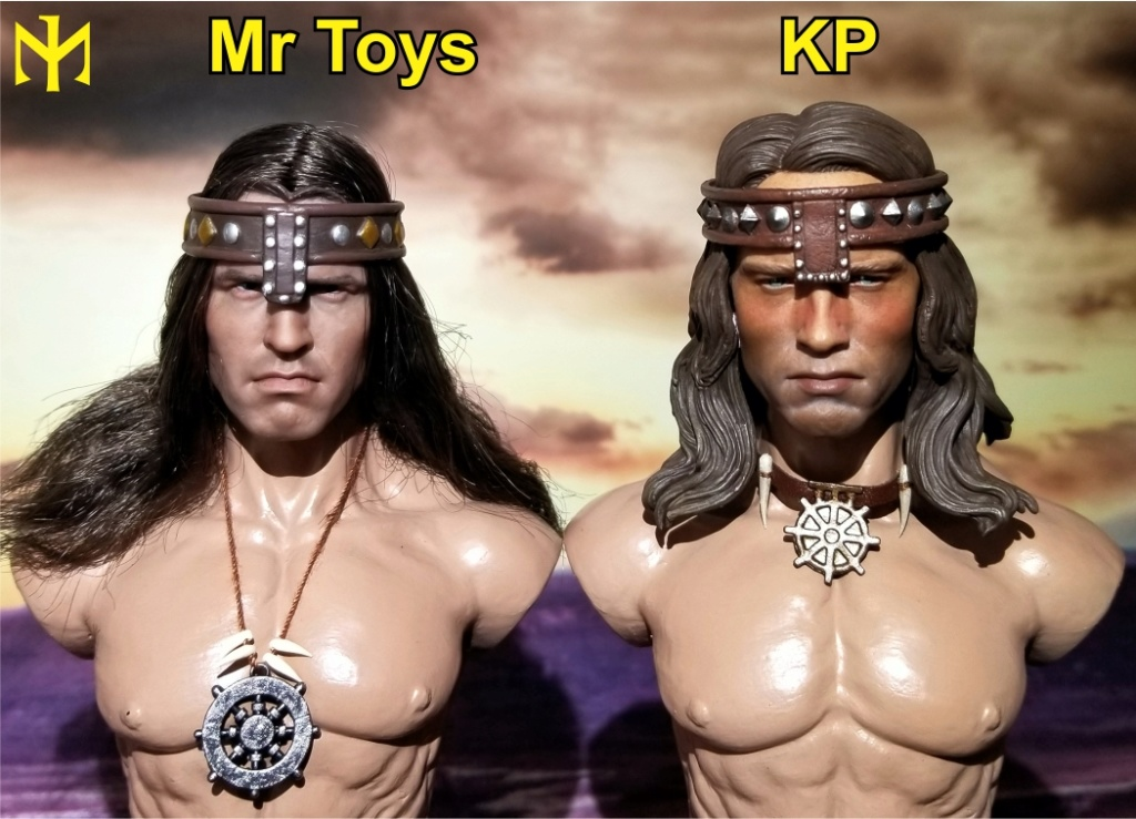 kp - Conan the Barbarian Masterclass Set and Head (MC01) by Kaustic Plastik Kpmc1310