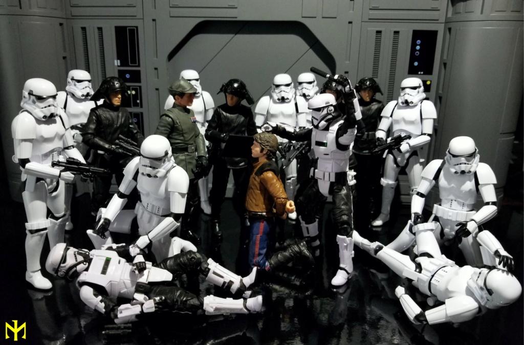 STAR WARS Imperial Patrol Trooper 1:12 scale Black Series action figure by Hasbro Pat0710