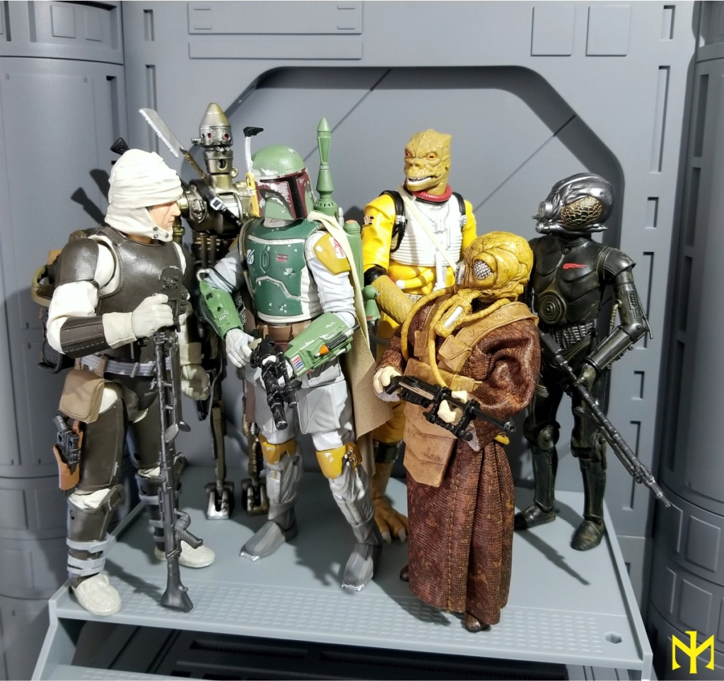 zuckuss - Star Wars Hasbro Black Series 6 inch Bounty Hunters (updated) Swbhbs10