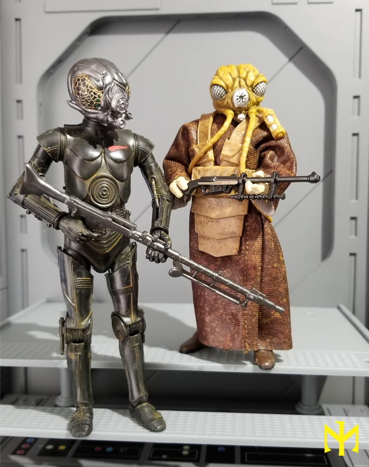 6inch - Star Wars Hasbro Black Series 6 inch Bounty Hunters (updated) Swbhbs11