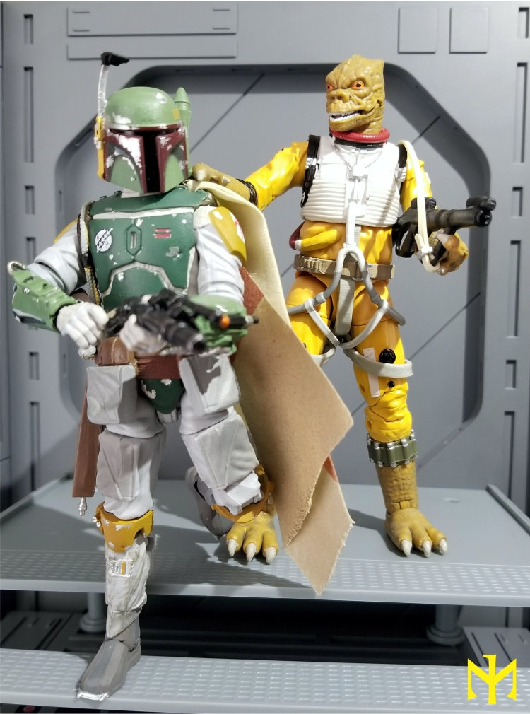 zuckuss - Star Wars Hasbro Black Series 6 inch Bounty Hunters (updated) Swbhbs12
