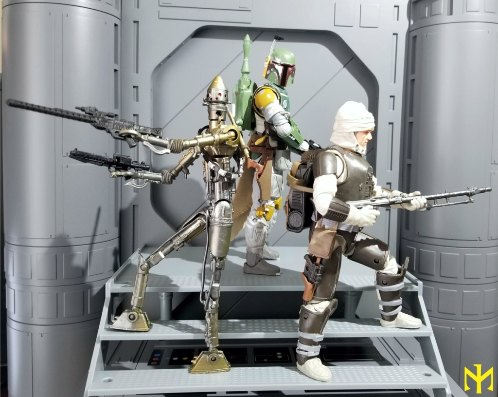6inch - Star Wars Hasbro Black Series 6 inch Bounty Hunters (updated) Swbhbs13