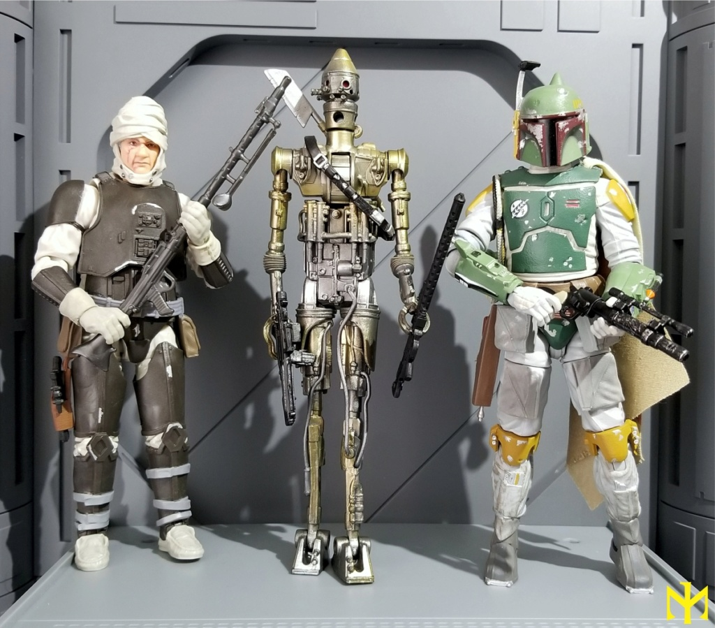6inch - Star Wars Hasbro Black Series 6 inch Bounty Hunters (updated) Swbhbs14