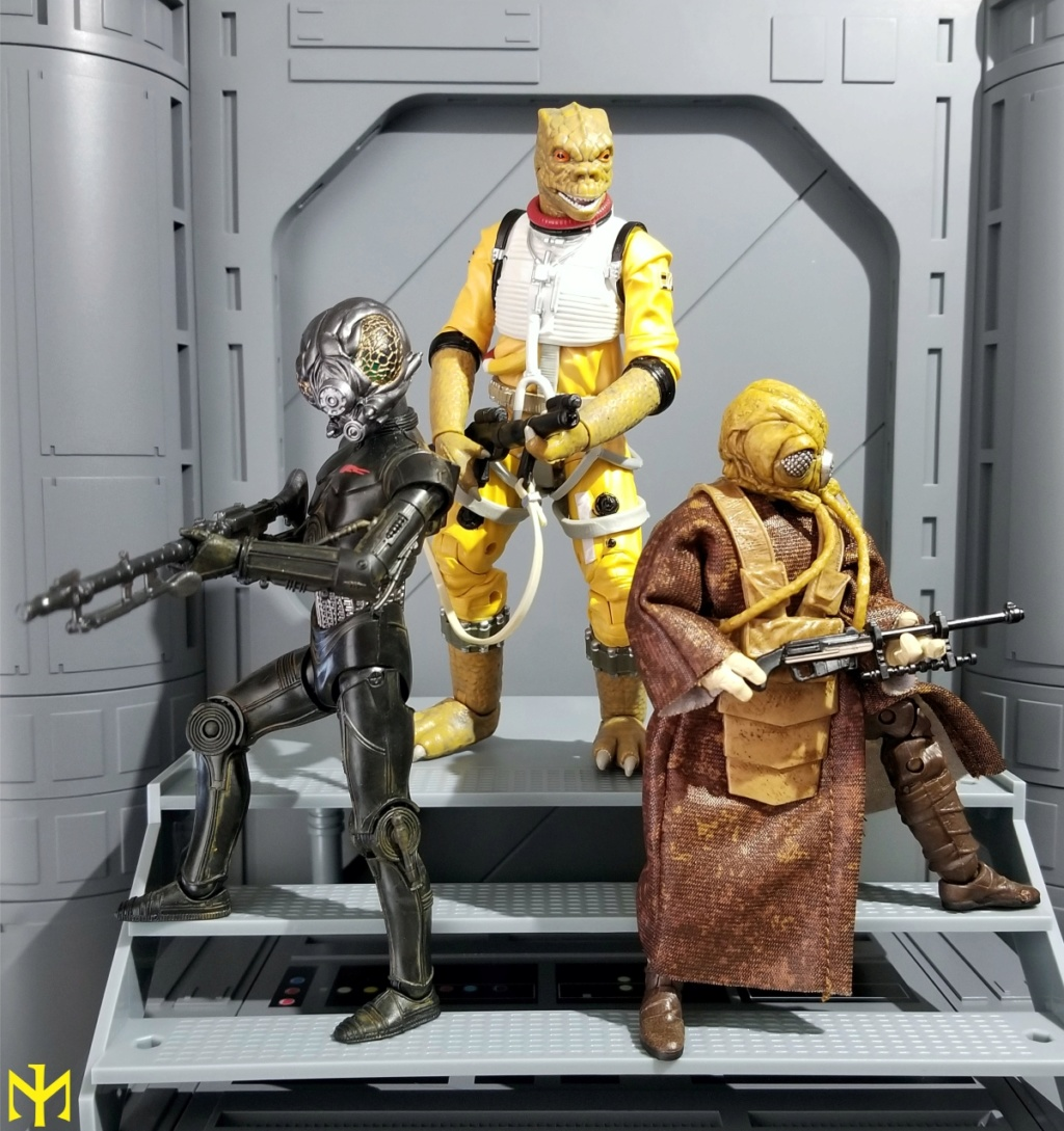 zuckuss - Star Wars Hasbro Black Series 6 inch Bounty Hunters (updated) Swbhbs15