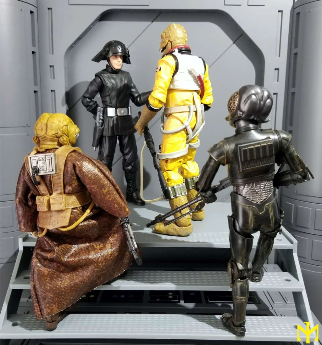 dengar - Star Wars Hasbro Black Series 6 inch Bounty Hunters (updated) Swbhbs16