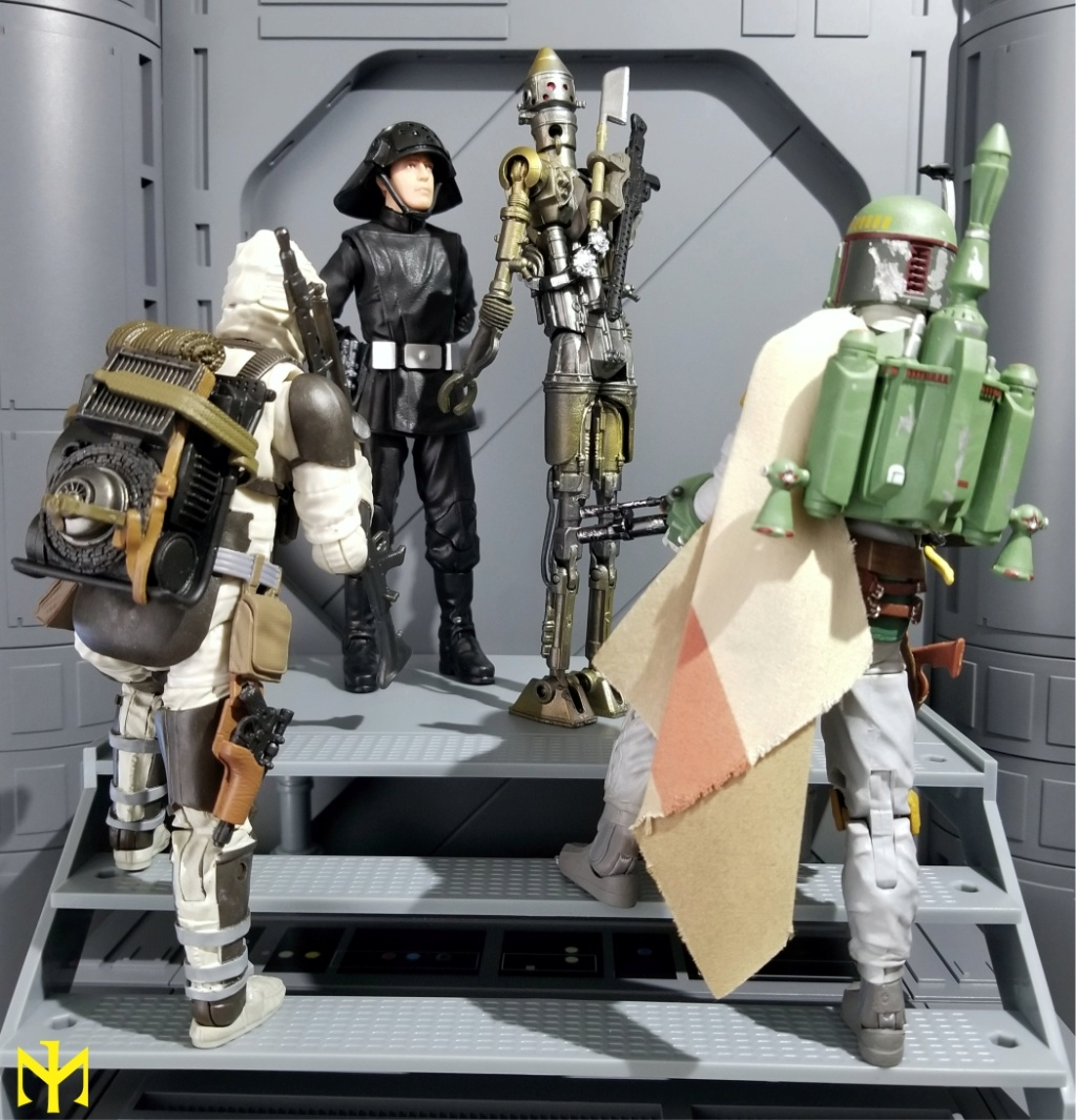 dengar - Star Wars Hasbro Black Series 6 inch Bounty Hunters (updated) Swbhbs17