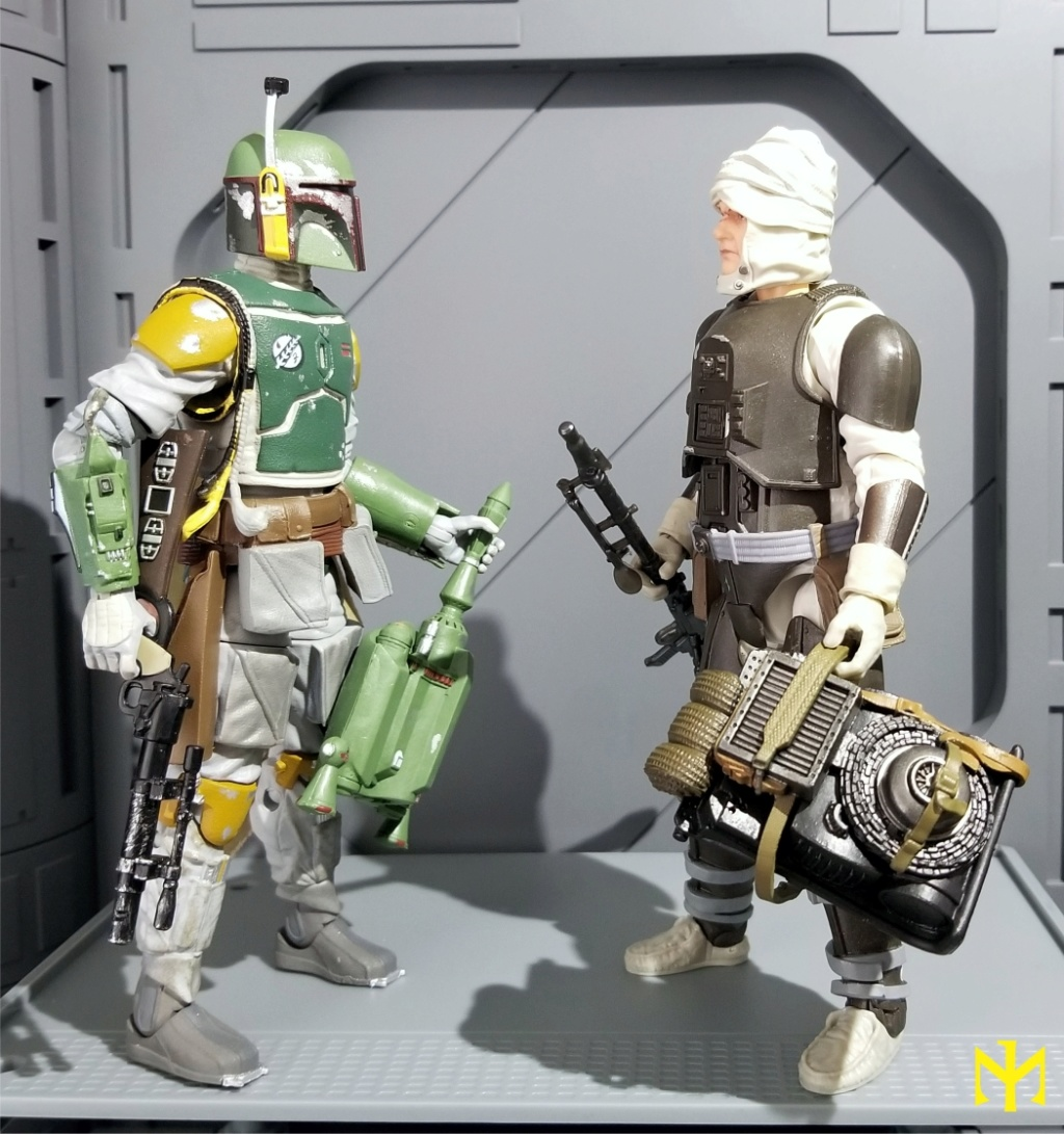 6inch - Star Wars Hasbro Black Series 6 inch Bounty Hunters (updated) Swbhbs18
