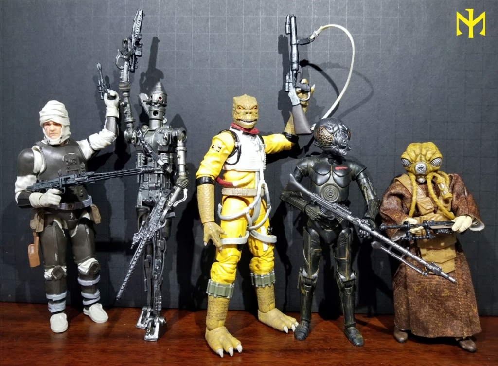 6inch - Star Wars Hasbro Black Series 6 inch Bounty Hunters (updated) Swbhbs19