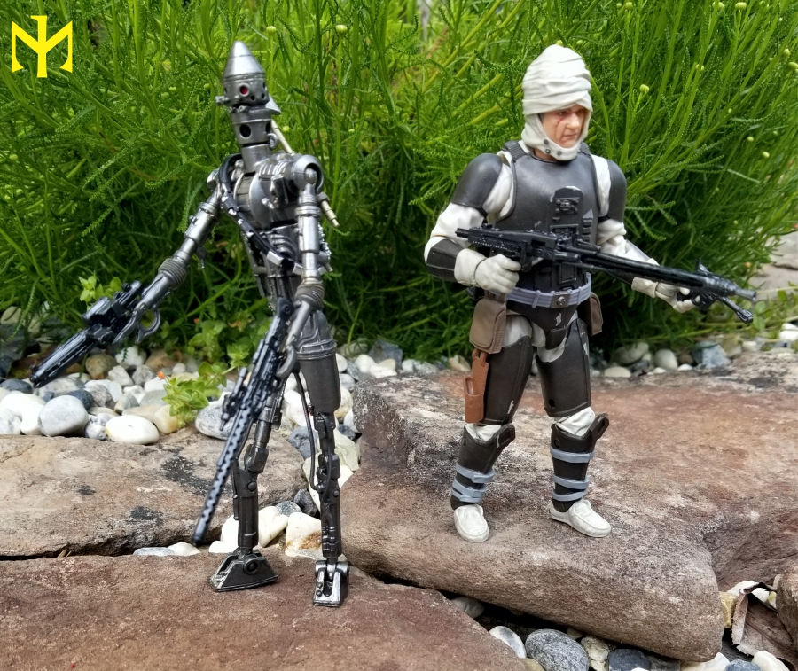 zuckuss - Star Wars Hasbro Black Series 6 inch Bounty Hunters (updated) Swbhbs22