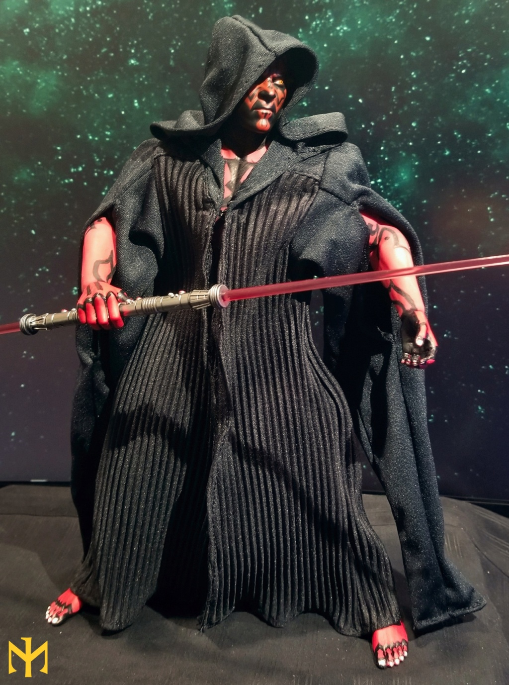 STAR WARS Updated Darth Maul Custom Part IV Maul 2.0 (photo heavy) Swdmt011
