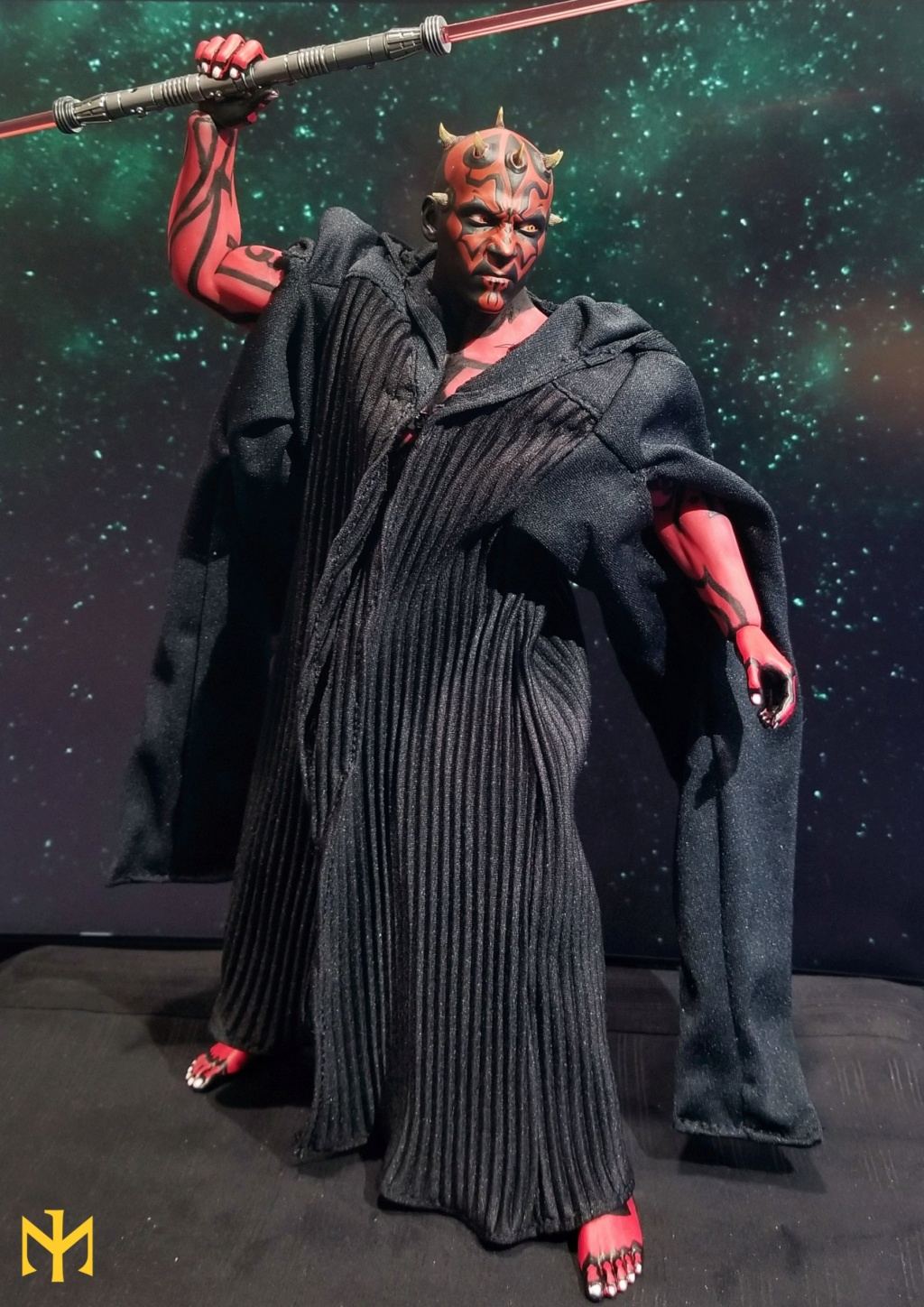 STAR WARS Updated Darth Maul Custom Part IV Maul 2.0 (photo heavy) Swdmt012