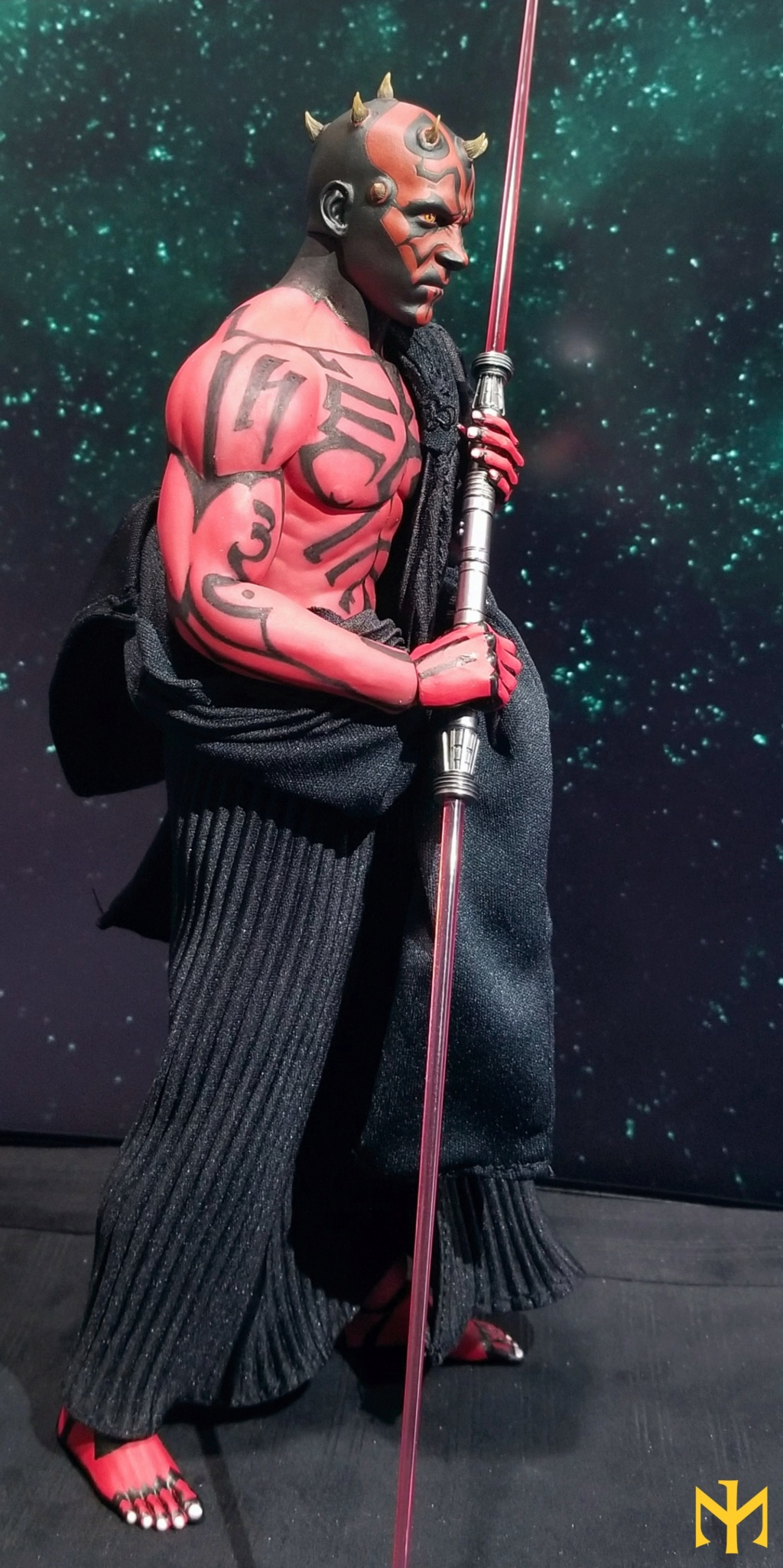 STAR WARS Updated Darth Maul Custom Part IV Maul 2.0 (photo heavy) Swdmt013