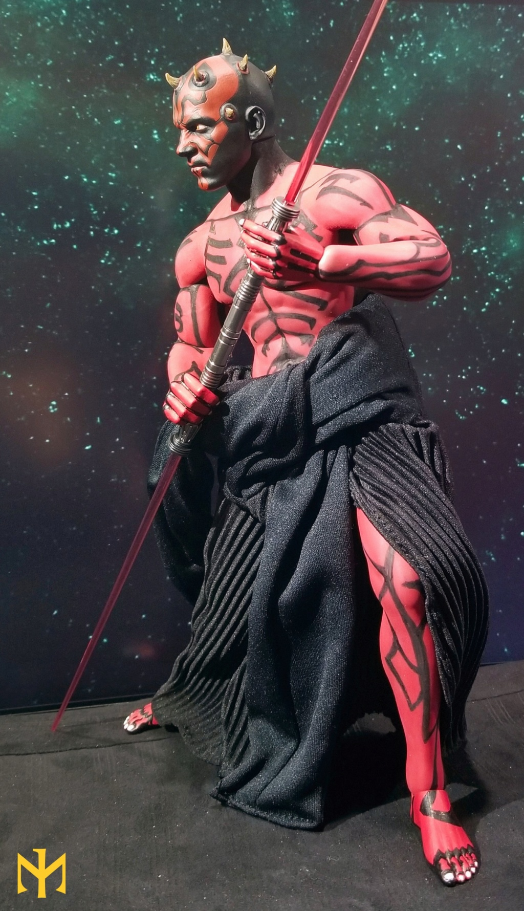 STAR WARS Updated Darth Maul Custom Part IV Maul 2.0 (photo heavy) Swdmt014