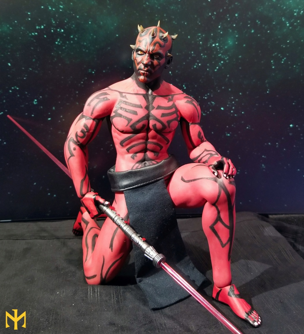 STAR WARS Updated Darth Maul Custom Part IV Maul 2.0 (photo heavy) Swdmt016
