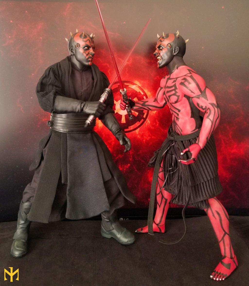 STAR WARS Updated Darth Maul Custom Part IV Maul 2.0 (photo heavy) Swdmt018