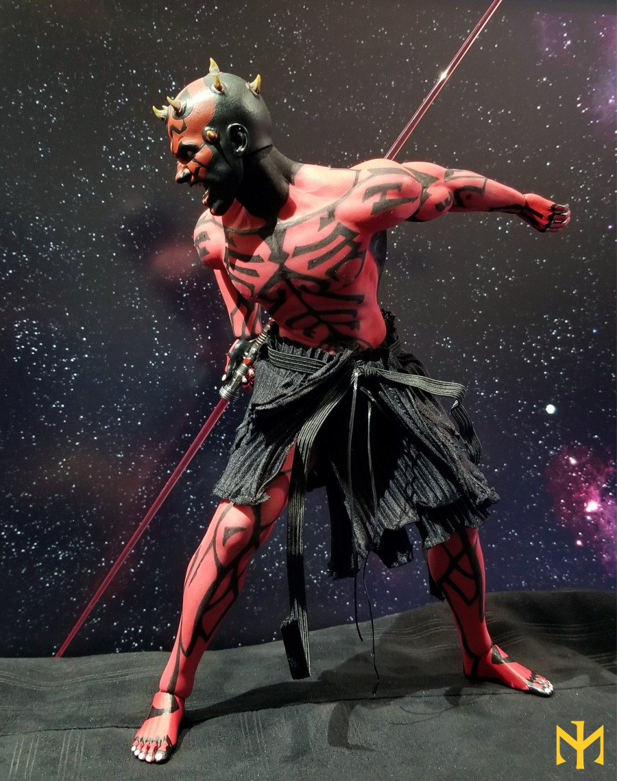 phicen - STAR WARS Updated Darth Maul Custom Part IV Maul 2.0 (photo heavy) Swdmt110