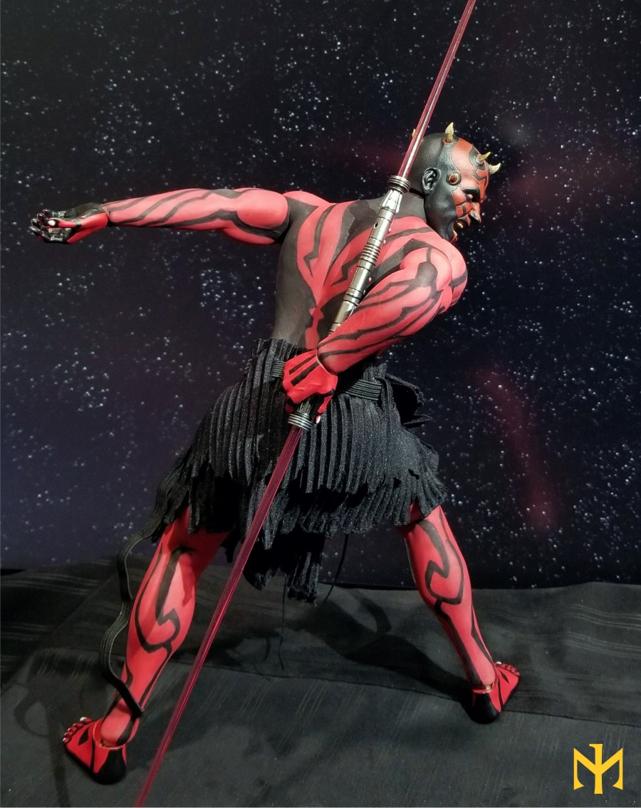 STAR WARS Updated Darth Maul Custom Part IV Maul 2.0 (photo heavy) Swdmt111