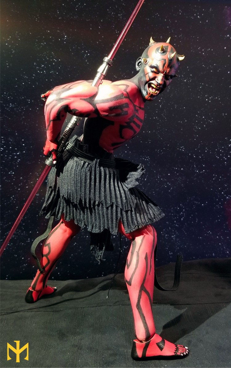 STAR WARS Updated Darth Maul Custom Part IV Maul 2.0 (photo heavy) Swdmt112