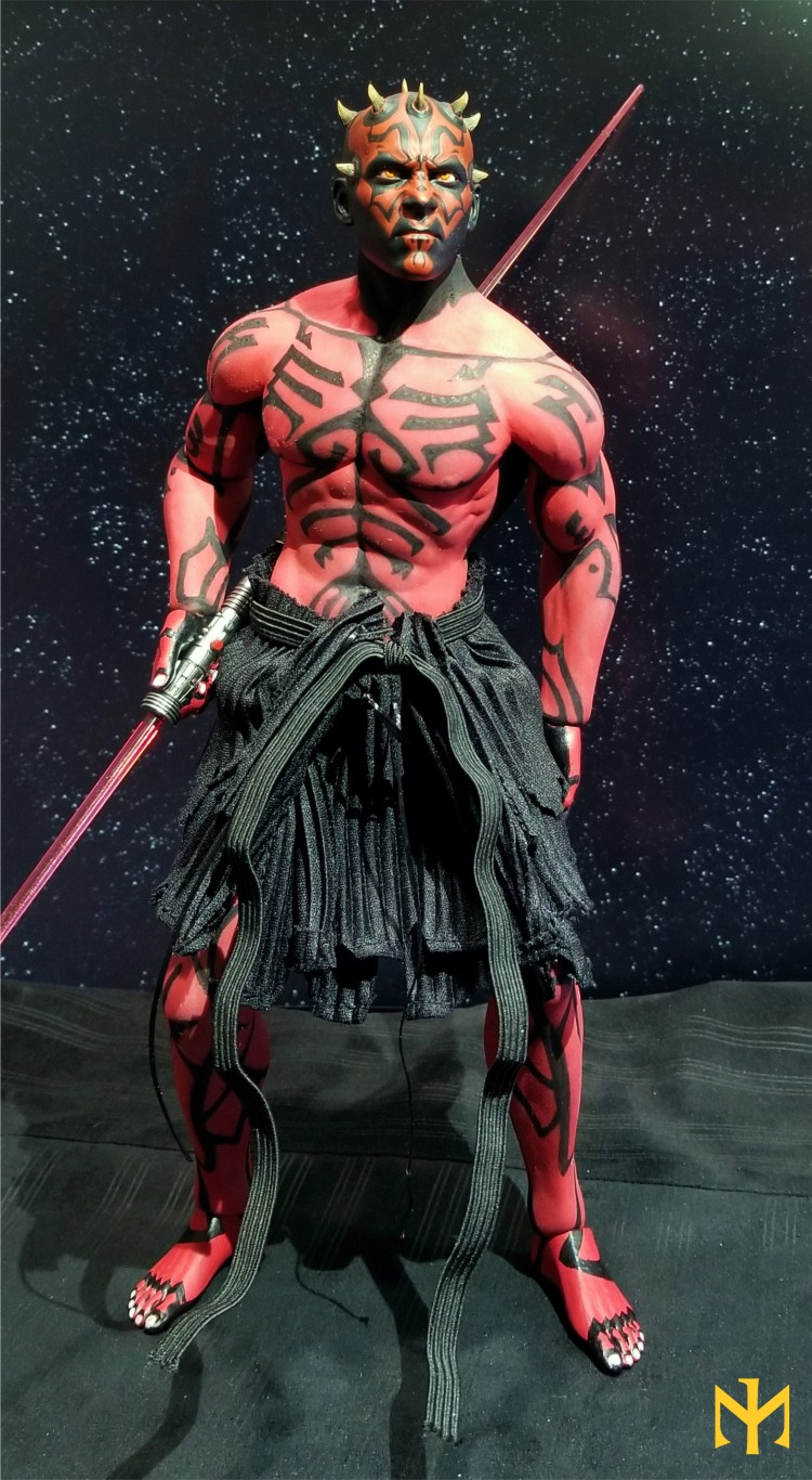 STAR WARS Updated Darth Maul Custom Part IV Maul 2.0 (photo heavy) Swdmt113