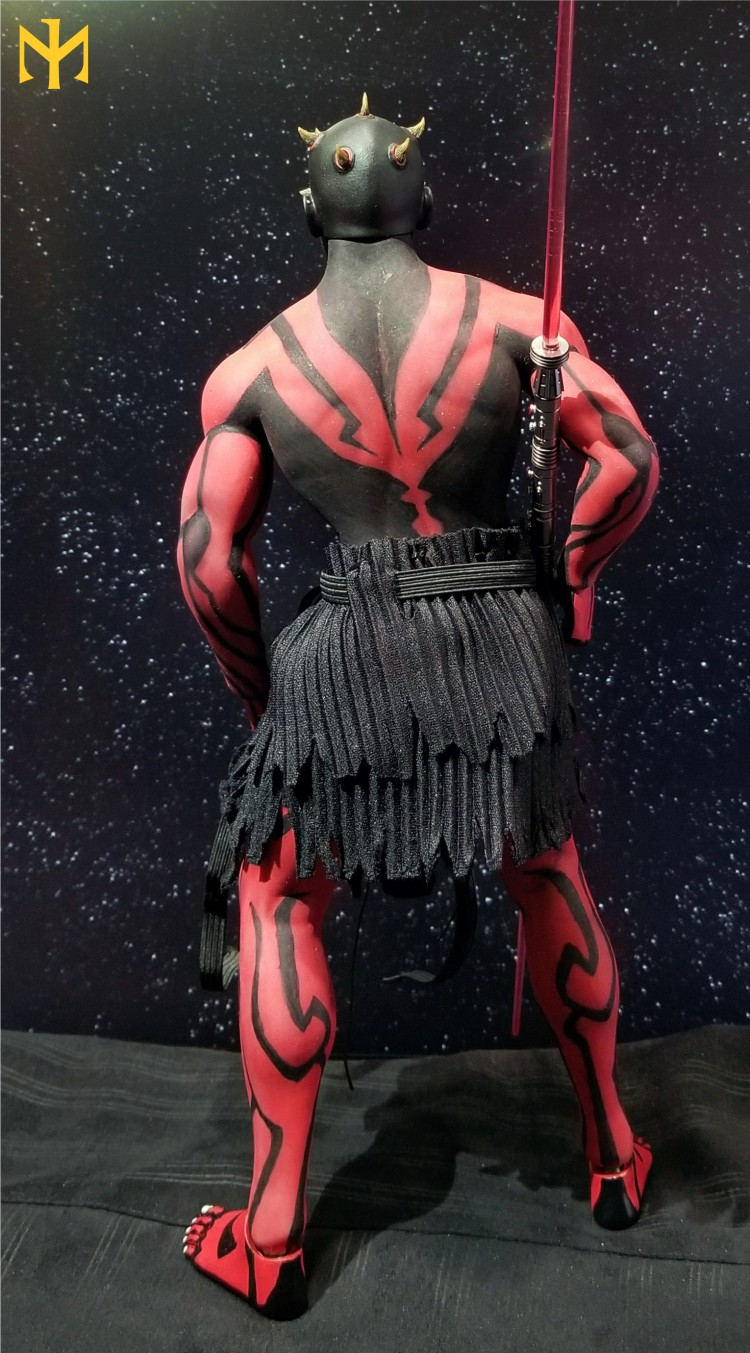 STAR WARS Updated Darth Maul Custom Part IV Maul 2.0 (photo heavy) Swdmt115