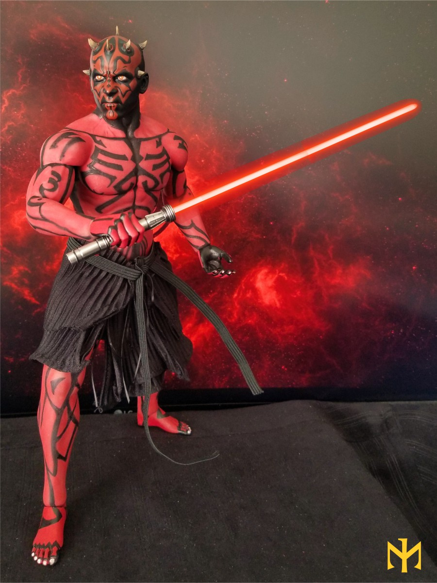phicen - STAR WARS Updated Darth Maul Custom Part IV Maul 2.0 (photo heavy) Swdmt117