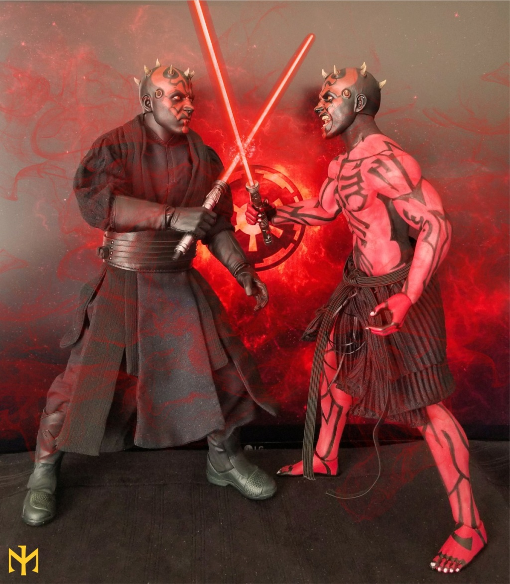 STAR WARS Updated Darth Maul Custom Part IV Maul 2.0 (photo heavy) Swdmt118