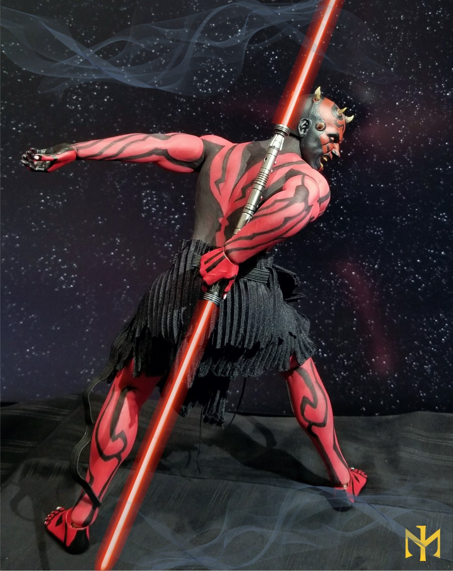 phicen - STAR WARS Updated Darth Maul Custom Part IV Maul 2.0 (photo heavy) Swdmt119