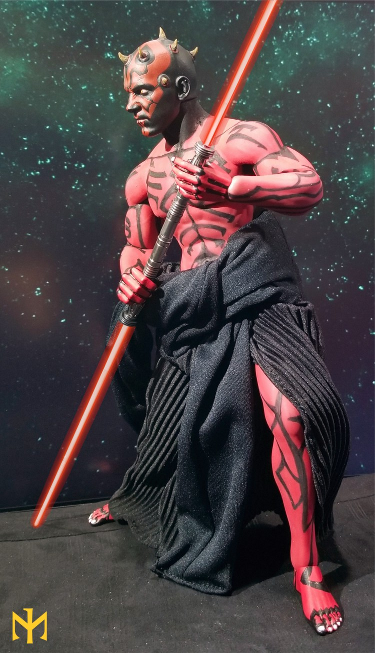 STAR WARS Updated Darth Maul Custom Part IV Maul 2.0 (photo heavy) Swdmt210