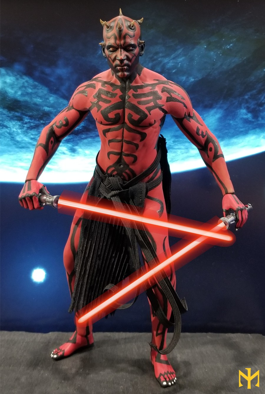 STAR WARS Updated Darth Maul Custom Part IV Maul 2.0 (photo heavy) Swdmt221