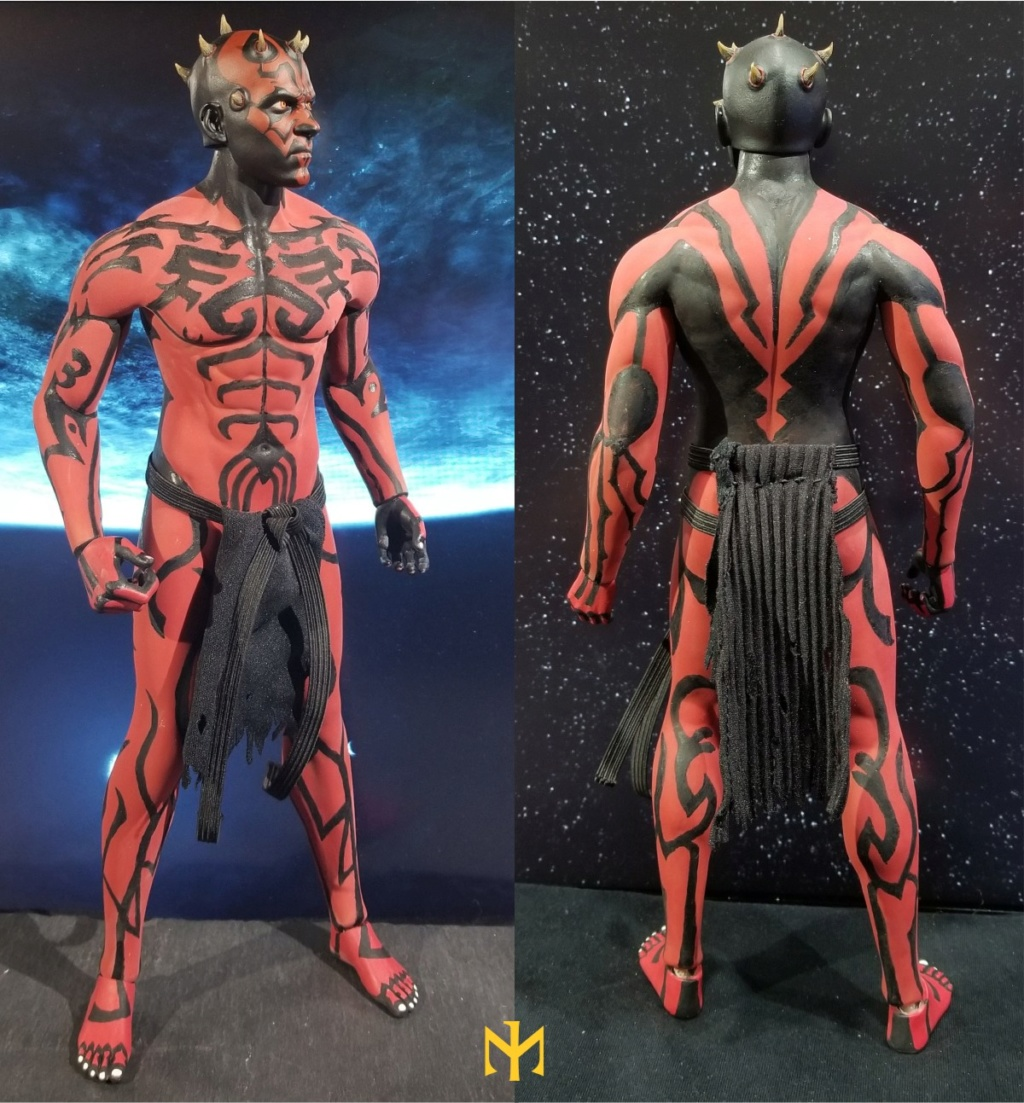 STAR WARS Updated Darth Maul Custom Part IV Maul 2.0 (photo heavy) Swdmt222